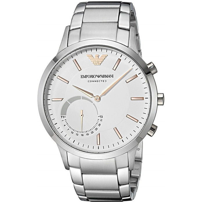 Emporio Armani Men's ART3005 Connected Hybrid Smartwatch Stainless Steel Watch