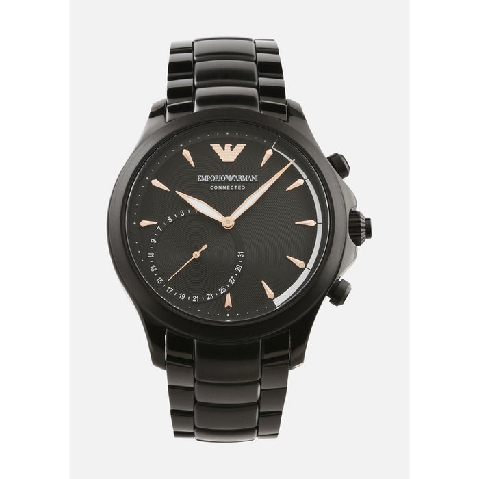 Emporio Armani Men's ART3012 Connected Black Stainless Steel Watch