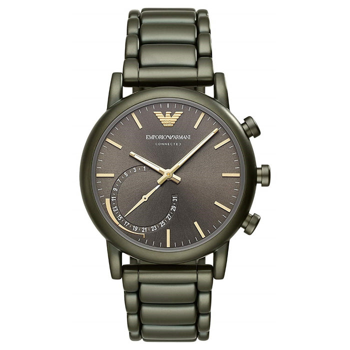 Emporio Armani Men's ART3015 Connected Green Stainless Steel Watch