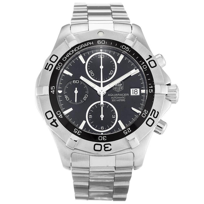 Tag Heuer Aquaracer Automatic Chronograph Stainless Steel Watch CAF2110.BA0809