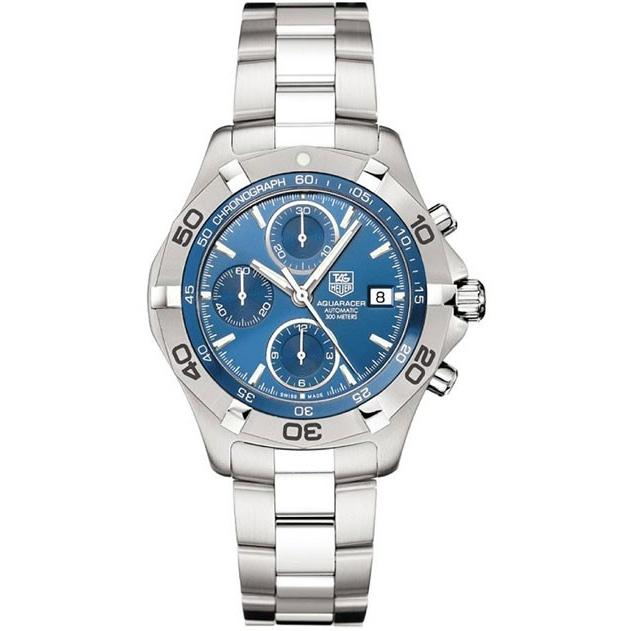 Tag Heuer Aquaracer Automatic Chronograph Automatic Stainless Steel Watch CAF2112.BA0809