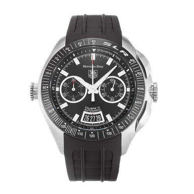Tag Heuer SLR Automatic Chronograph Black Rubber Watch CAG2111.FT6009