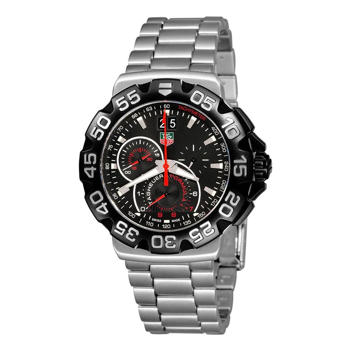 Tag Heuer Formula 1 Quartz Chronograph Stainless Steel Watch CAH1010.BA0860