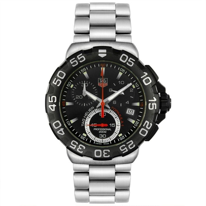 Tag Heuer Formula 1 Quartz Chronograph Stainless Steel Watch CAH1110.BA0850