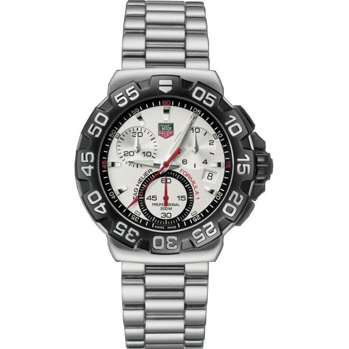 Tag Heuer Formula One Quartz Chronograph Stainless Steel Watch CAH1111.BA0850