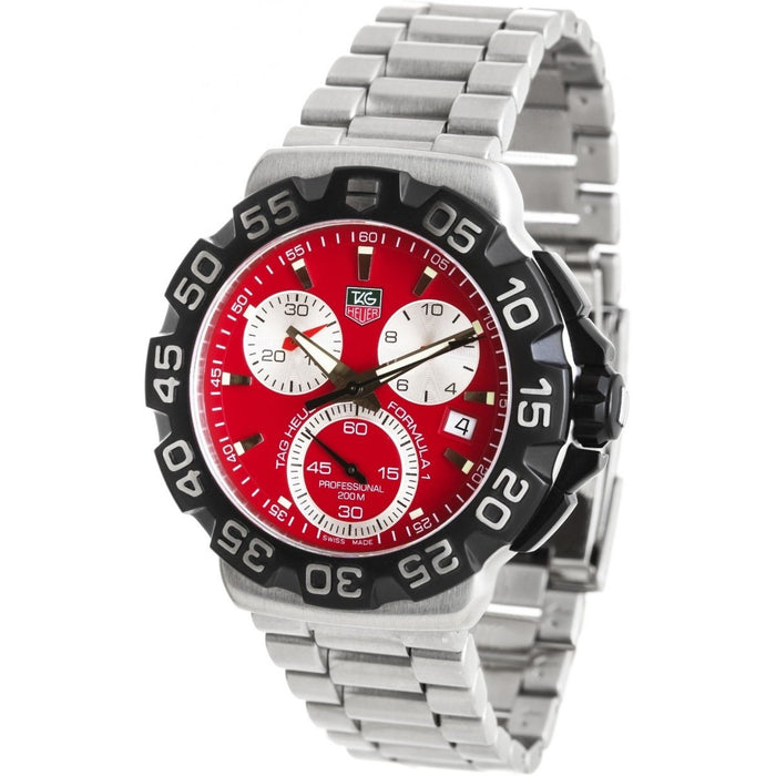 Tag Heuer Formula 1 Quartz Chronograph Stainless Steel Watch CAH1112.BA0850