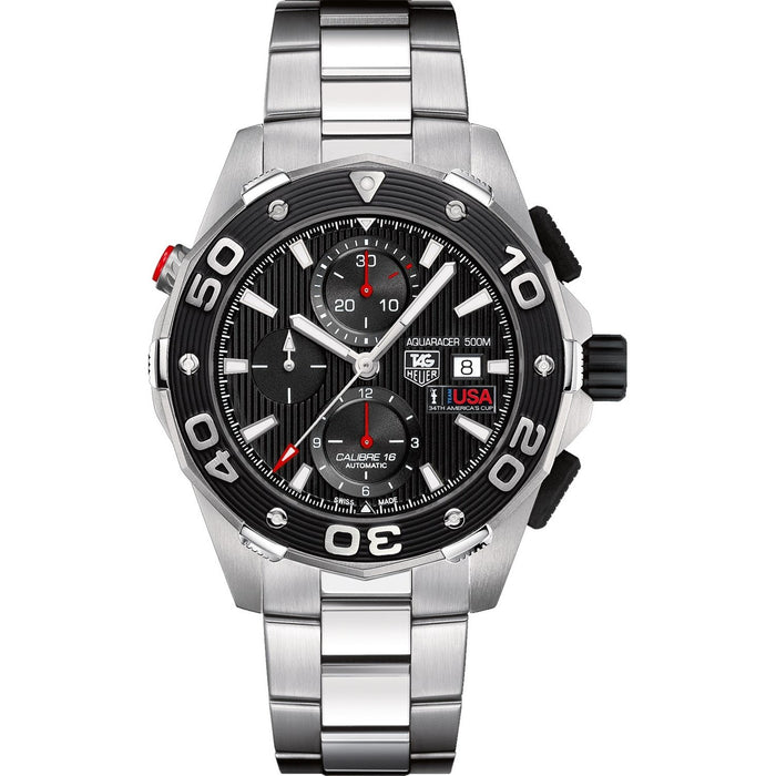Tag Heuer Aquaracer Limited Edition Automatic Chronograph Automatic Stainless Steel Watch CAJ2111.BA0872