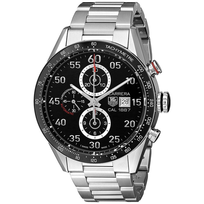 Tag Heuer Carrera Calibre 1887 Automatic Chronograph Automatic Stainless Steel Watch CAR2A10.BA0799
