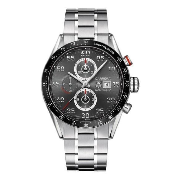 Tag Heuer Carrera 1887  Automatic Chronograph Stainless Steel Watch CAR2A11.BA0796