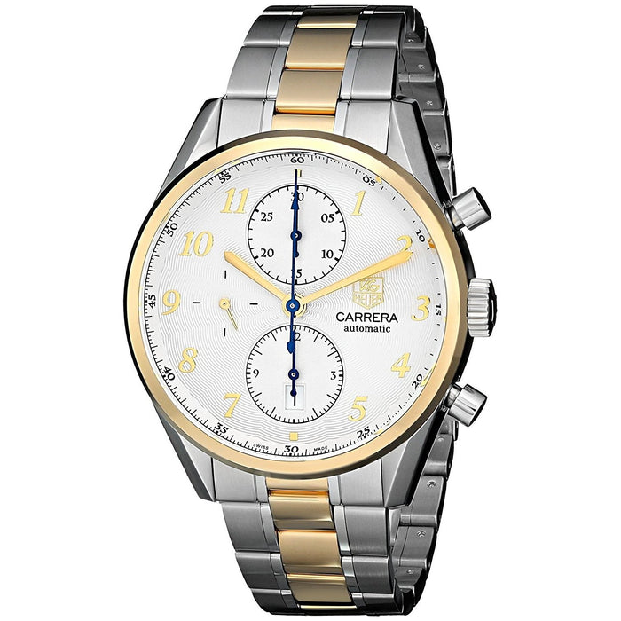 Tag Heuer Carrera Heritage Calibre 16 Automatic 18kt yellow gold Chronograph Automatic Two-Tone Stainless Steel Watch CAS2150.BD0731