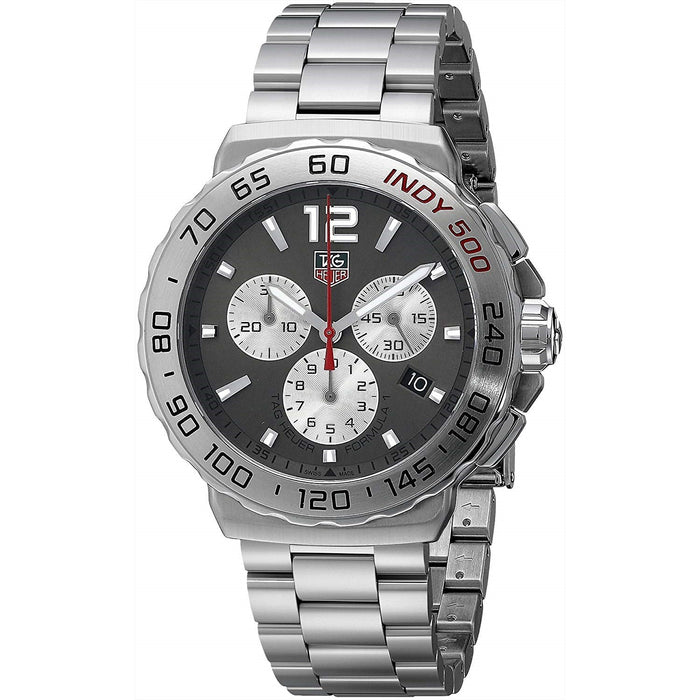 Tag Heuer Formula 1 Quartz Chronograph Stainless Steel Watch CAU1113.BA0858