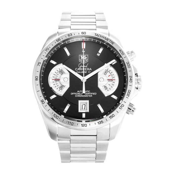 Tag Heuer Grand Carrera Automatic Chronograph Automatic Stainless Steel Watch CAV511A.BA0902