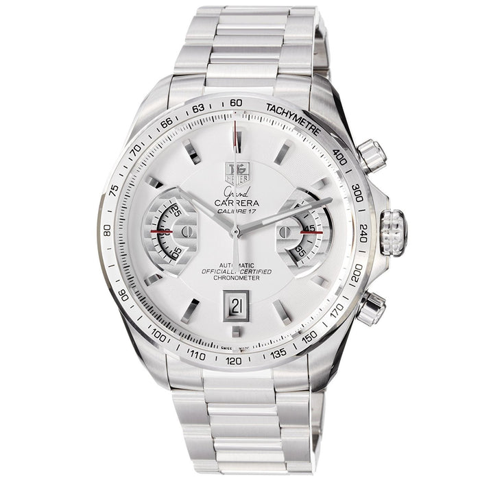 Tag Heuer Grand Carrera Automatic Chronograph Automatic Stainless Steel Watch CAV511B.BA0902