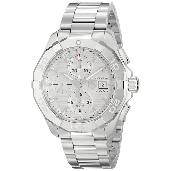 Tag Heuer Aquaracer Calibre 16 Automatic Chronograph Automatic Stainless Steel Watch CAY2111.BA0925