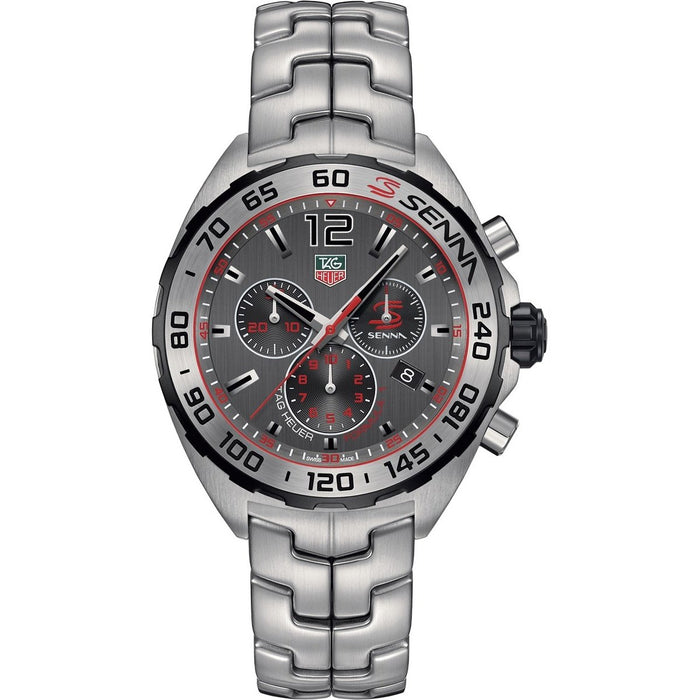Tag Heuer Formula 1 Senna Quartz Chronograph Stainless Steel Watch CAZ1012.BA0883
