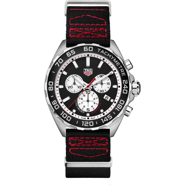 Tag Heuer Formula 1 Quartz Chronograph Black Textile Watch CAZ101E.FC8228