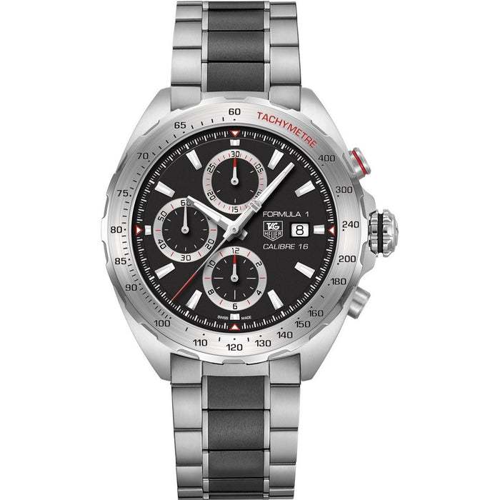 Tag Heuer Formula 1 Automatic Chronograph Two-Tone Ceramic and Stainless Steel Watch CAZ2010.BA0970