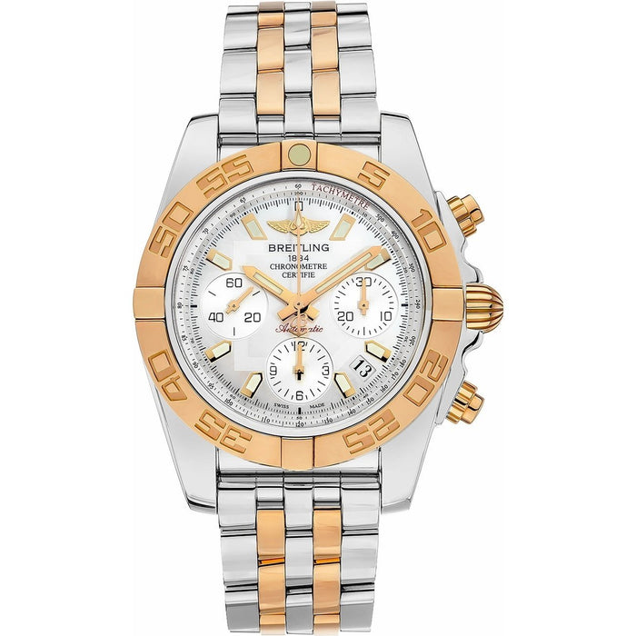 Breitling Chronomat Automatic Chronograph Two-Tone Stainless Steel Watch CB0140Y2-A743-378C