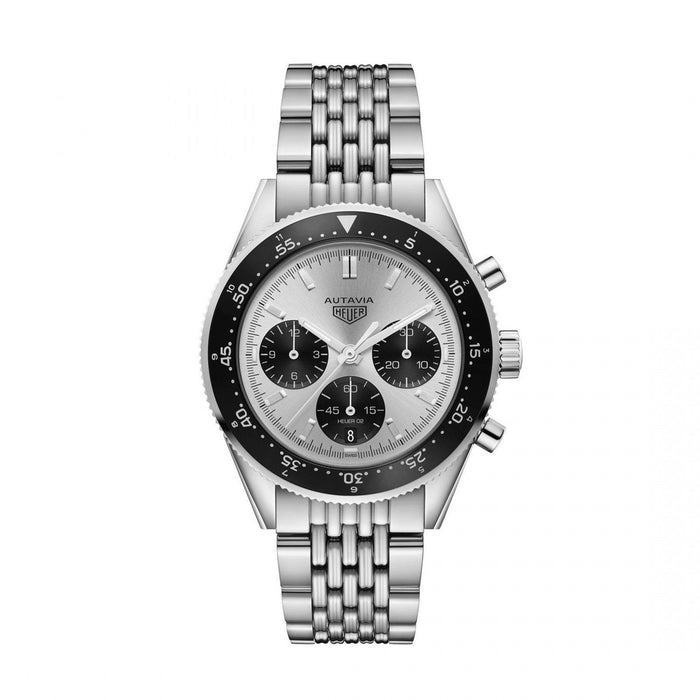 Tag Heuer Heritage Quartz Chronograph Stainless Steel Watch CBE2111.BA0687