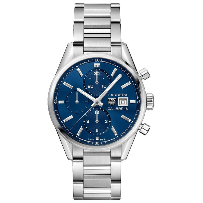 Tag Heuer Carrera Quartz Chronograph Stainless Steel Watch CBK2112.BA0715