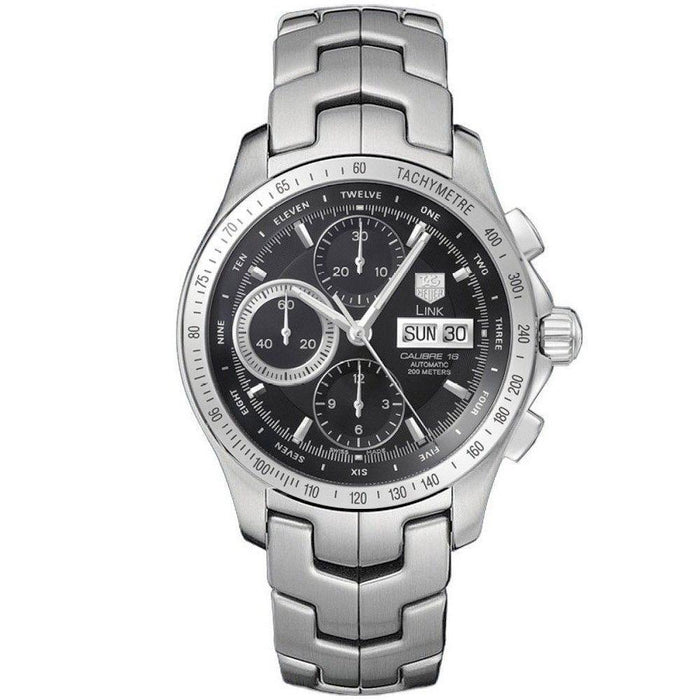 Tag Heuer Link Automatic Chronograph Automatic Stainless Steel Watch CJF211A.BA0594