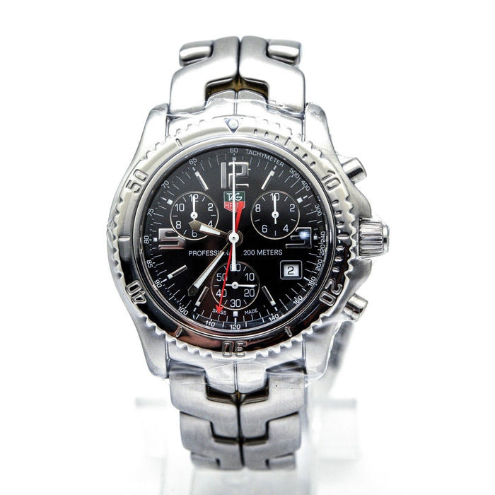 Tag Heuer Link Quartz Chronograph Stainless Steel Watch CT1111.BA0550