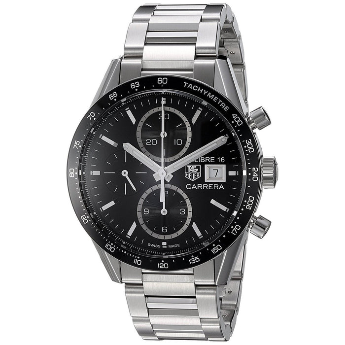 Tag Heuer Carrera Automatic Chronograph Automatic Stainless Steel Watch CV201AJ.BA0727