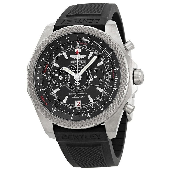 Breitling Bentley Automatic Automatic Chronograph Black Rubber Watch E2736522-BC63