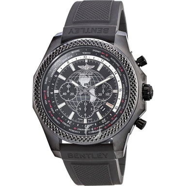 Breitling Bentley B05 Unitime Limited Edition Automatic Chronograph Black Rubber Watch MB0521V4-BE46-265S
