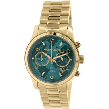 Michael Kors Watch Hunger Stop Quartz Chronograph Gold-Tone Stainless Steel Watch MK5815