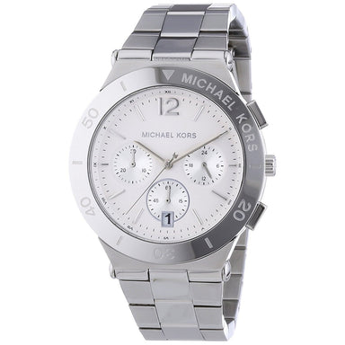 Michael Kors Wyatt Quartz Chronograph Stainless Steel Watch MK5932