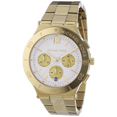 Michael Kors Wyatt Quartz Chronograph Gold-Tone Stainless Steel Watch MK5933