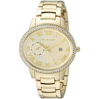 Michael Kors Whitley Quartz Crystal Gold-Tone Stainless Steel Watch MK6227