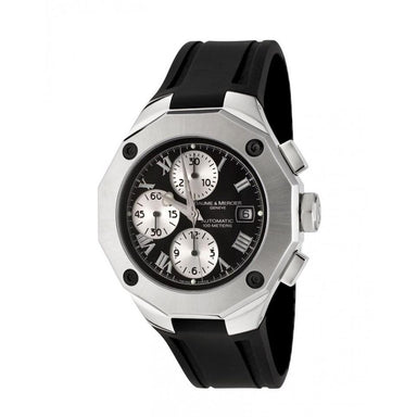 Baume & Mercier Riviera Automatic Chronograph Black Rubber Watch MOA08594