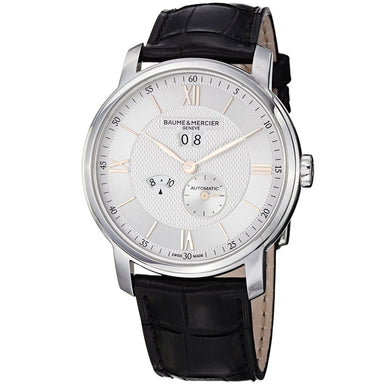 Baume & Mercier Classima Automatic Automatic Black Leather Watch MOA10038