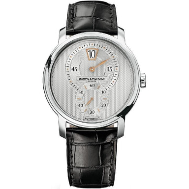 Baume & Mercier Classima Executives Automatic Automatic Black Leather Watch MOA10039