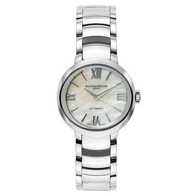 Baume & Mercier Promesse Automatic Stainless Steel Watch MOA10182