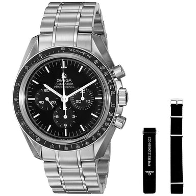 Omega Speedmaster Professional Moonwatch Mechanical Chronograph Hand Wind Stainless Steel Watch O31130423001006
