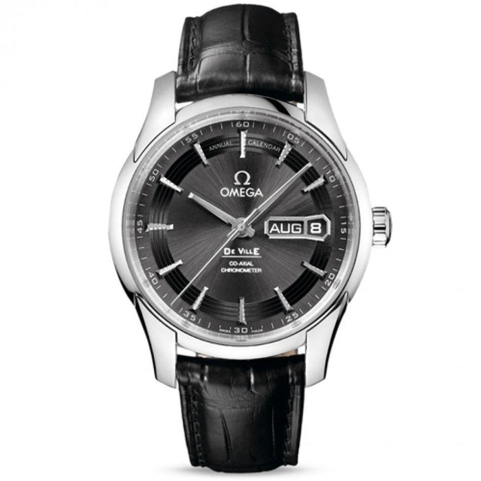 Omega De Ville Automatic Automatic Black Leather Watch O43133412206001
