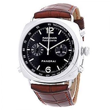 Panerai Radiomir Automatic Automatic Chronograph Brown Leather Watch PAM00214