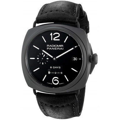 Panerai Radiomir Automatic Automatic Black Leather Watch PAM00384