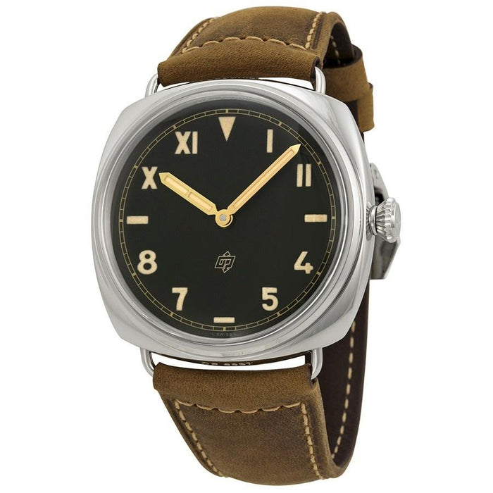 Panerai Radiomir California 3 Days Mechanical Mechanical Hand Wind Brown Leather Watch PAM00424