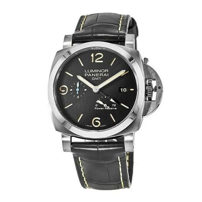 Panerai Luminor 1950 Automatic Blue Leather Watch PAM01321