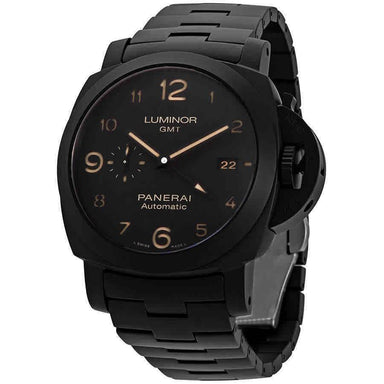 Panerai Tuttonero Luminor GMT Automatic Black Ceramic Watch PAM01438