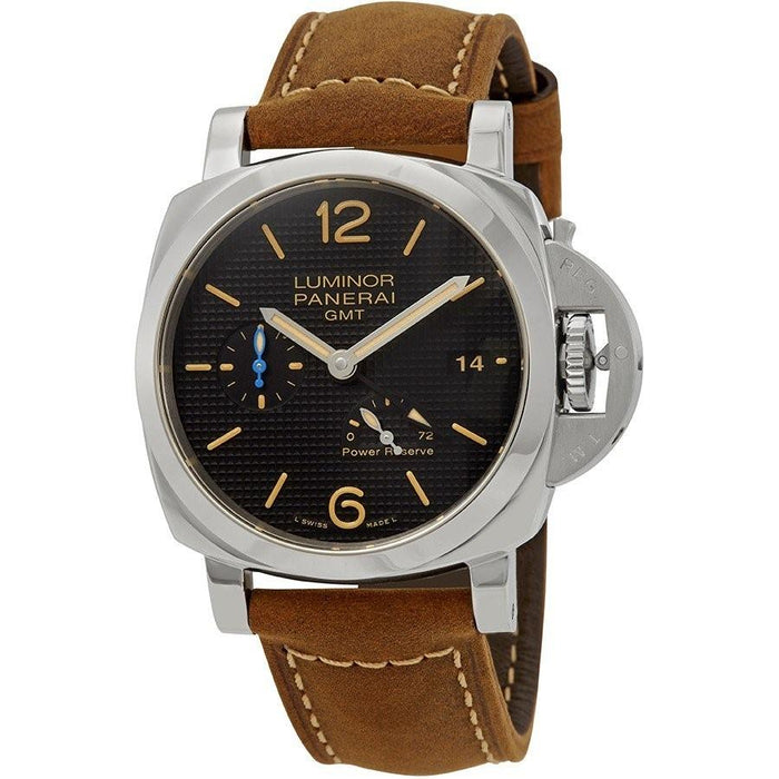 Panerai Luminor 1950 Automatic Brown Leather Watch PAM01537