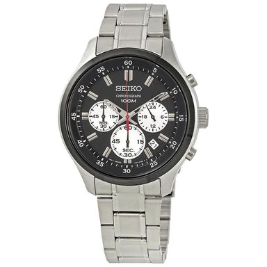 Seiko  Quartz Stainless Steel Watch SKS593