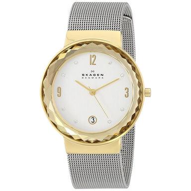 Skagen Leonora Quartz Crystal Stainless Steel Watch SKW2002