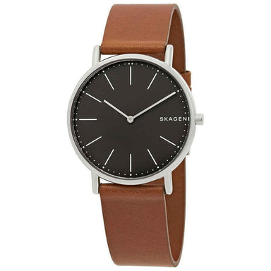 Skagen Signatur Quartz Brown Leather Watch SKW6429