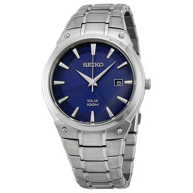 Seiko Solar Solar Stainless Steel Watch SNE323