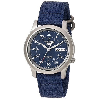 Seiko 5 Automatic Automatic Blue Canvas Watch SNK807